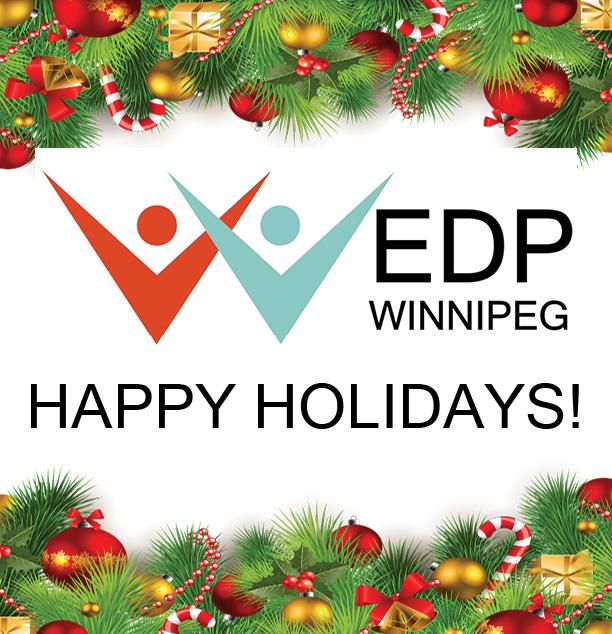 Happy Holidays from EDP-Winnipeg