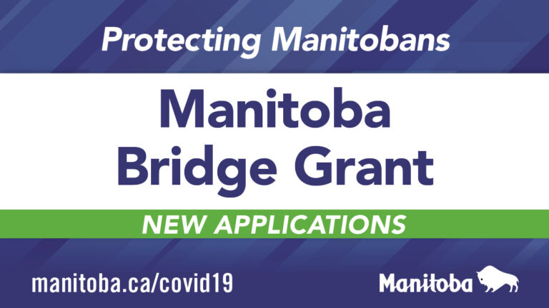 Banner stating the bridge grant is now open to new applicants